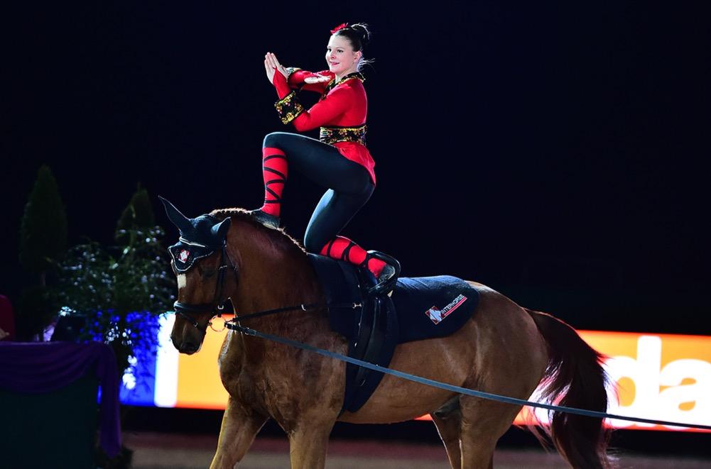 15. - 18. Januar 2015, Partner Pferd, Messe Leipzig. im|press|ions.  LukJäiser, SimoneSUI  Foto: impressions – Daniel Kaiser & Pascal Duran