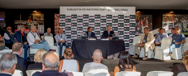 Draw Furusiyya FEI Nations Cup Jumping Final - Barcelona 2016 © Hippo Foto - Dirk Caremans 21/09/16