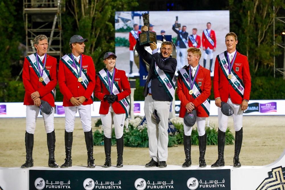 Deutschland Sieger im Nationenpreis-Final, Schweiz 6.